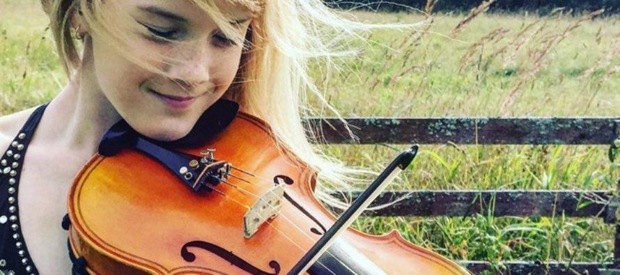 12-VUOTIAS virolainen viulunsoittaja Estella Elisheva antaa japanissa kaksi konserttia