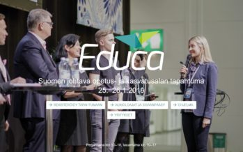 Eduskunta osallistuu Educa-messuille