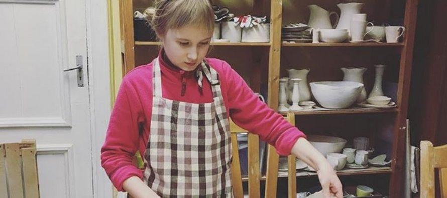 Helena-Reet: Aloin Ivanka Shoshanan kanssa käydä savipiirissä!