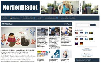 Helena-Reet: Avasimme sivustot NordenBladet.fi ja NordenBladet.se!! Kiinnostus NordenBladet-sivustoja kohtaan on suurta ja joka päivä ajattelen – minne seuraavaksi? Mitä seuraavaksi?
