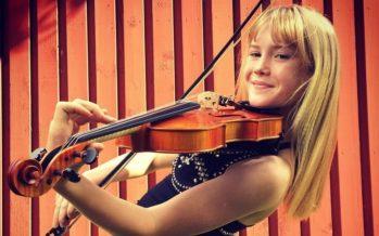 Kolmetoistavuotias virolainen viulisti Estella Elisheva konserteistaan Japanissa: Nyt pitää alkaa itse kirjoittaa musiikkia