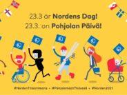 Juhlitaan yhdessä Pohjolan päivää! Fira Nordens dag tillsammans med oss!