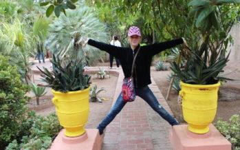 Marrakech, Marokko: Kuuluisa Majorelle-puutarha ja Yves Saint Laurent